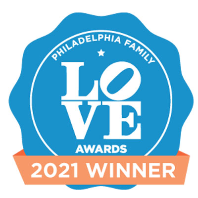 Love 2021 Award badge